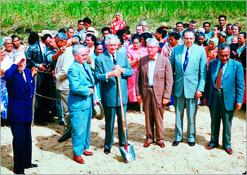 TIMELINE: CCH groundbreaking, 1955